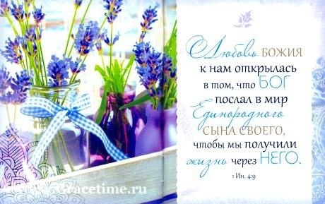 БИБЛИЯ О ЛЮБВИ. Цитатник. Подарочный вариант