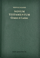 НОВЫЙ ЗАВЕТ НА ГРЕЧЕСКОМ И ЛАТИНСКОМ ЯЗЫКЕ. /Nestle-Aland Novum Testamentum Graece et Latine/