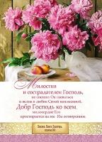 Карманный календарь 2020: Милостив и сострадателен Господь