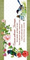 Конверт цветной 11x22: Благословение Господа