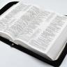ЧЕХОЛ НА УЧЕБНУЮ БИБЛИЮ ДЖОНА МАК-АРТУРА. Кож. зам. полиуретан, пластик, молния /разные цвета/