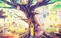 """КАРТИНА ПО НОМЕРАМ PAINTBOY """"Сказочное дерево"""" /40х50/"""
