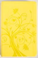 БИБЛИЯ КАНОНИЧЕСКАЯ 055. Дерево, жёлтый, иск. кожа, золотой обрез /126х195/