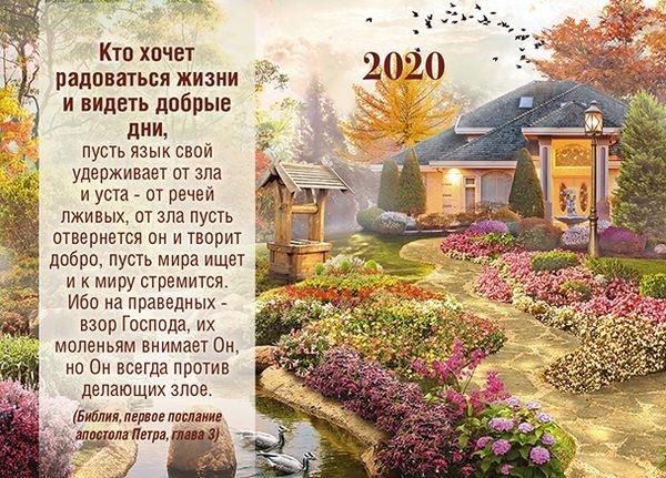 Карманный календарь 2020: Кто хочет радоваться жизни