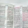 БИБЛИЯ КАНОНИЧЕСКАЯ. Черный цвет, вензель/орнамент, бумвинил