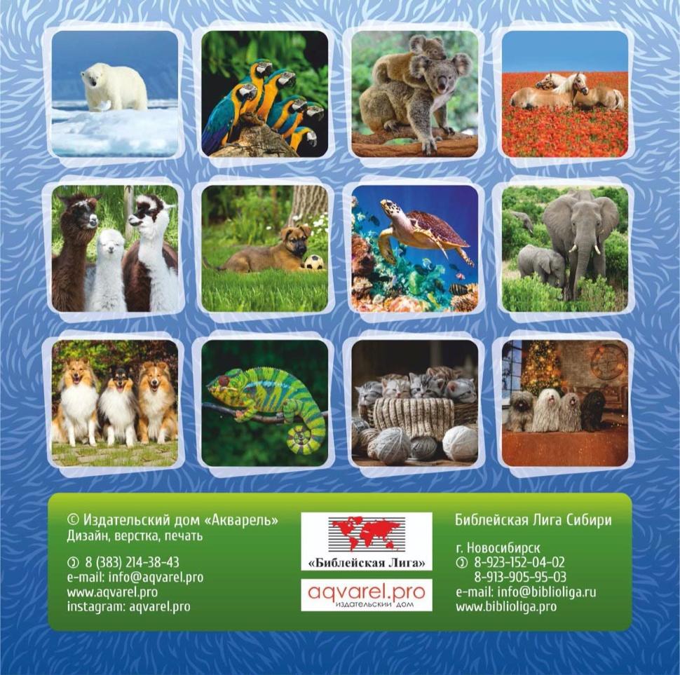 Перекидной календарь 2021: Забавные животные (детский)