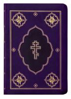 БИБЛИЯ 045 DC Фиолетовая, неканоническая, синодальный перевод, кожа, зол. обрез, закладка /120х165/
