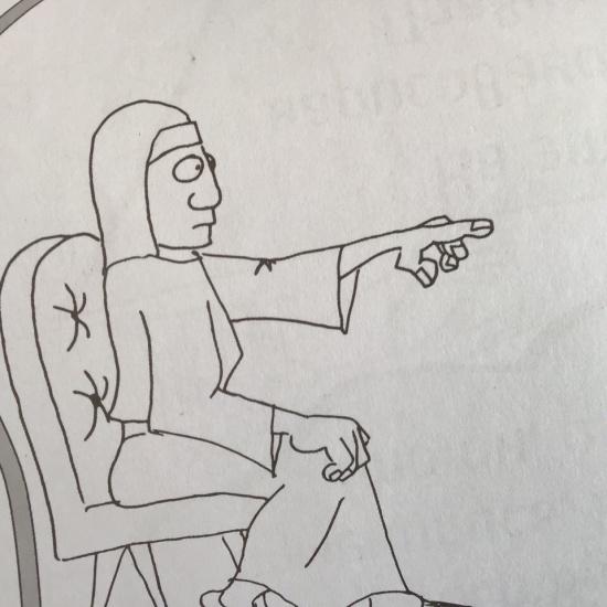 ИОСИФ В СТРАНЕ ФАРАОНОВ. Расскраска для детей