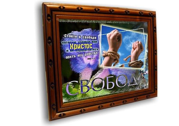 Постер: СТОЙТЕ В СВОБОДЕ №2