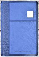 БИБЛИЯ 075 TISP Синий цвет, серебр. срез, индексы, парал. места, словарь /170х240/