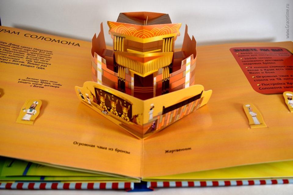 ДЕТСКИЙ БИБЛЕЙСКИЙ АТЛАС. Книжка-панорама. Джульета Давид, Пол Николс