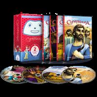 Набор DVD дисков с мультфильмом «Суперкнига» (2 сезон)