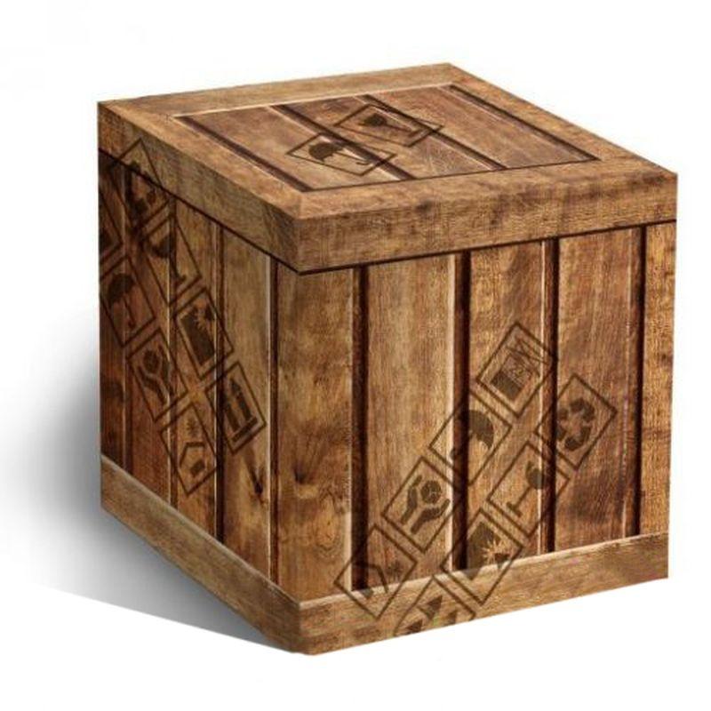 """Подарочная коробка для кружки """"ДЕРЕВЯННЫЙ ЯЩИК"""""""