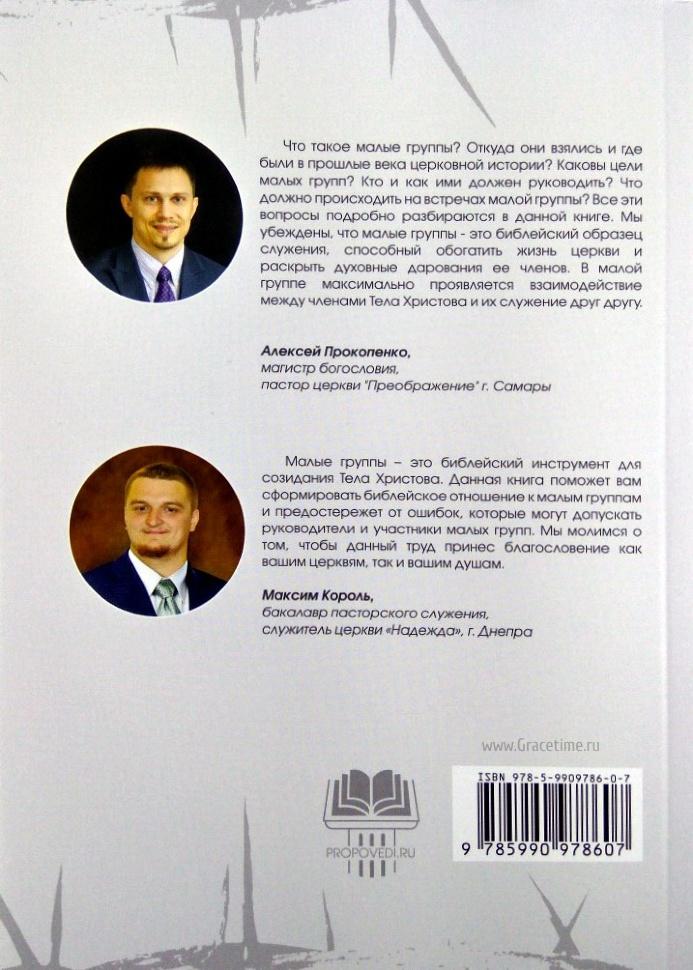 МАЛЫЕ ГРУППЫ: Теория и практика. Алексей Прокопенко и Максим Король