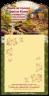 Блокнот на магнитной основе 10x20: Ищите прежде Царства Божия